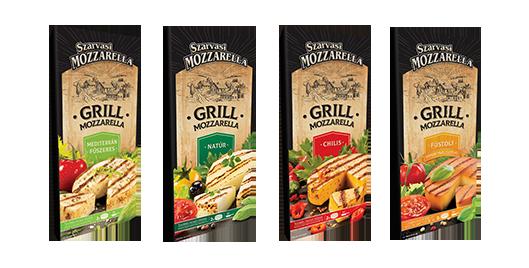 Grill Mozzarella