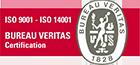 Bureau Veritas tanúsítványt